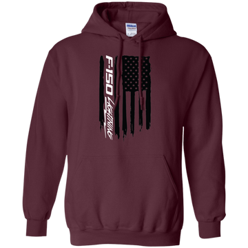 Ford F-150 Lightning American Flag Pullover Hoodie
