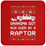 Wheel Spin Addict Raptor Truck F150 Christmas Coaster