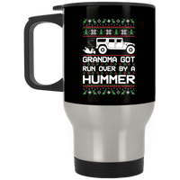 Wheel Spin Addict Hummer H1 Christmas Stainless Travel Mug