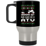 Wheel Spin Addict ATV Quad Christmas Stainless Travel Mug