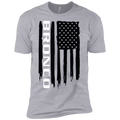 Youth Bronco SUV American Flag Boys' Cotton T-Shirt