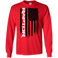 Ford Raptor F-150 6.2 3.5 Ecoboost American Flag T-Shirt Long Sleeve