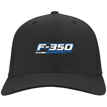 F-350 Super Duty Power Stroke Flex Fit Twill Baseball Cap