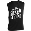 Off Roading Is Life 4x4 Off-Road Sleeveless Performance T-Shirt