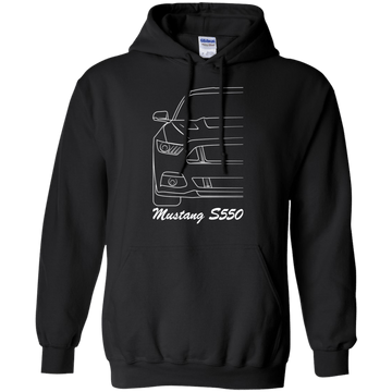 Ford Mustang S550 Pullover Hoodie 2015 2016 2017