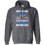 Drag Light Notchback Mustang Hoodie