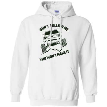 Toyota Tacoma Hoodie Off-Road Rock Crawling