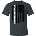 WSA Power Stroke F-250 F-350 American Flag T-Shirt