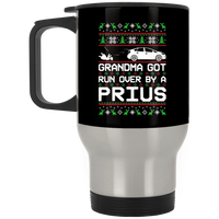 Wheel Spin Addict Prius Hybrid Christmas Stainless Travel Mug