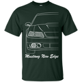 New Edge Ford Mustang Outline T-Shirt