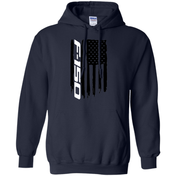 Ford F-150 Truck Flag Pullover Hoodie