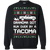 Toyota Tacoma 2016-2019 Ugly Christmas Grandma Got Run Over Crewneck Sweatshirt