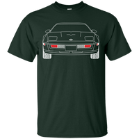C4 Corvette Outline Double Sided T-Shirt