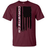 Corvette C6 American Flag T-Shirt