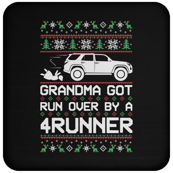 Wheel Spin Addict 4Runner Christmas Coaster