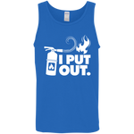 I Put Out Fires Firefighter Funny Tank Top Shirt