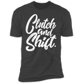 Clutch and Shift Manual Stick Shift Premium Short Sleeve T-Shirt