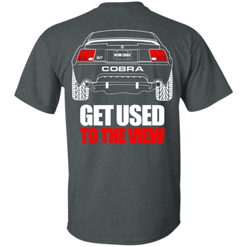 New Edge Ford Mustang Cobra T-Shirt 1999 2000 2001 2002