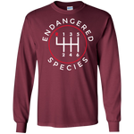 Endangered Species Manual Shift Stick Long Sleeve T-Shirt
