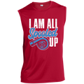 I am All Spooled Up Turbo Boosted Turbo Sleeveless Performance T-Shirt