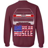 Foxbody Ford Mustang American Muscle Pullover Sweatshirt