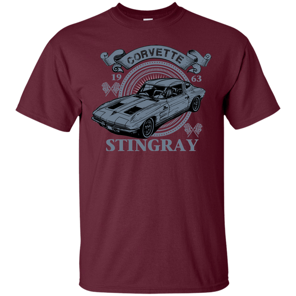 Chevy Corvette Classic Stingray Split Window T-Shirt 63