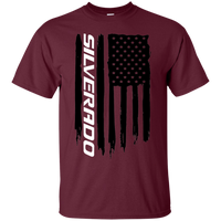 Chevy Silverado Flag 1500 2500 3500 T-Shirt