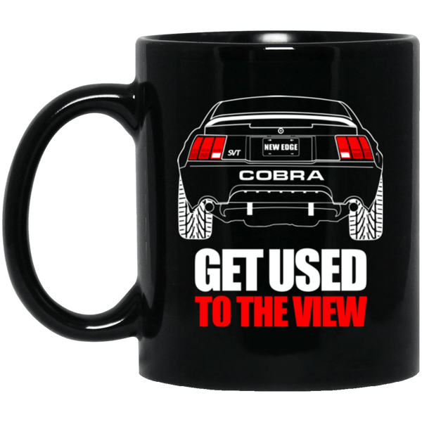 New Edge Cobra Black Mug