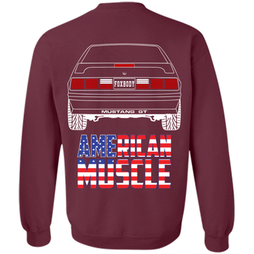 Foxbody Ford Mustang GT Pullover Sweatshirt