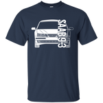 Saab 9-3 93 Aero Linear Arc T-Shirt
