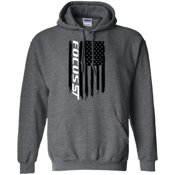 Ford Focus ST Ecoboost Flag Pullover Hoodie