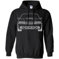 New Edge Mustang Pullover Hoodie 1999 2000 2001 2002 2003 2004