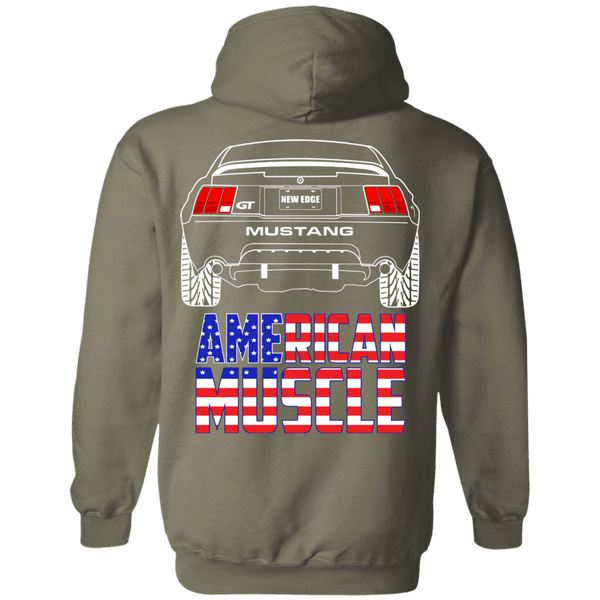 New Edge Ford Mustang GT American Muscle Pullover Hoodie 1999 2000 2001 2002 2003 2004