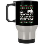 Wheel Spin Addict Street Bike Christmas Stainless Travel Mug
