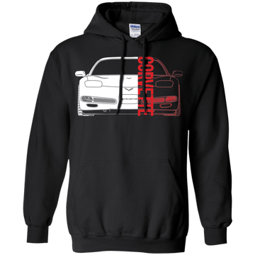 C5 Corvette Double Sided Hoodie