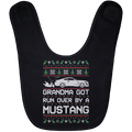 Wheel Spin Addict Mustang S550 Christmas Baby Bib