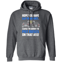 Drag Light Fastback Mustang Hoodie