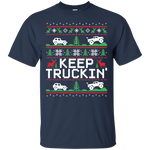 Keep Trucking Ugly Christmas T-Shirt