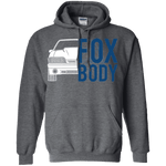 Foxbody GT Mustang Double Sided Hoodie