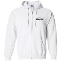 Ford Raptor F-150 Ecoboost 3.5 6.2 Gildan Zip Up Hooded Sweatshirt