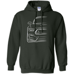 S550 Ford Mustang GT350 GT500 Pullover Hoodie
