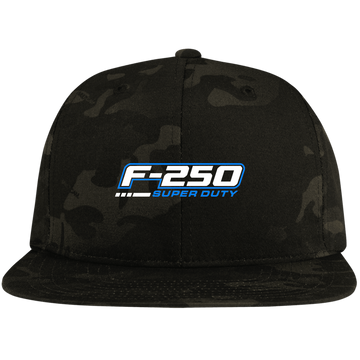 F-250 Super Duty Power Stroke Flat Bill High-Profile Snapback Hat