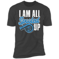 I Am All Spooled Up Turbo Boosted Premium Short Sleeve T-Shirt