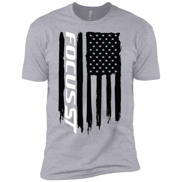 Youth Focus ST American Flag Boys' Cotton T-Shirt