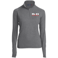 Ladies' Coyote 5.0 Ford Mustang S550 S197 1/2 Zip Performance Pullover