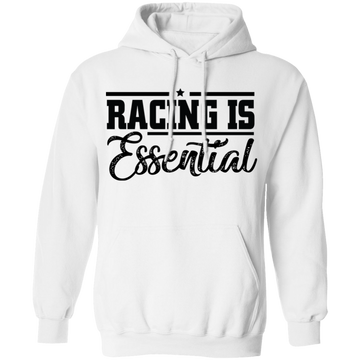Racing Is Essential Racing Gapped Turbo Boosted Pullover Hoodie