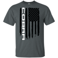 Cobra Ford Mustang Flag T-Shirt S550 S197 New Edge Foxbody SN95 Shelby