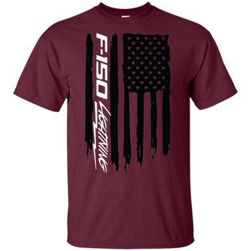 Ford F-150 Lightning American Flag T-Shirt