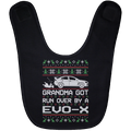 Wheel Spin Addict Evo X Christmas Baby Bib
