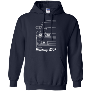Ford Mustang S197 Outline Pullover Hoodie 2010 2011 2012 2013 2014